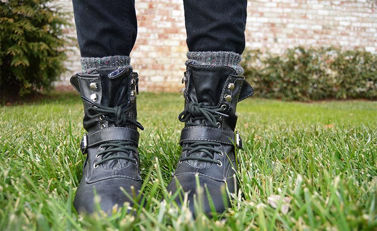 Macy's American Rag Combat Boots