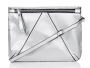 Top Shop 'V Panel' Faux Leather Clutch