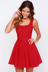LULUS-Home-Before-Daylight-Red-Dress