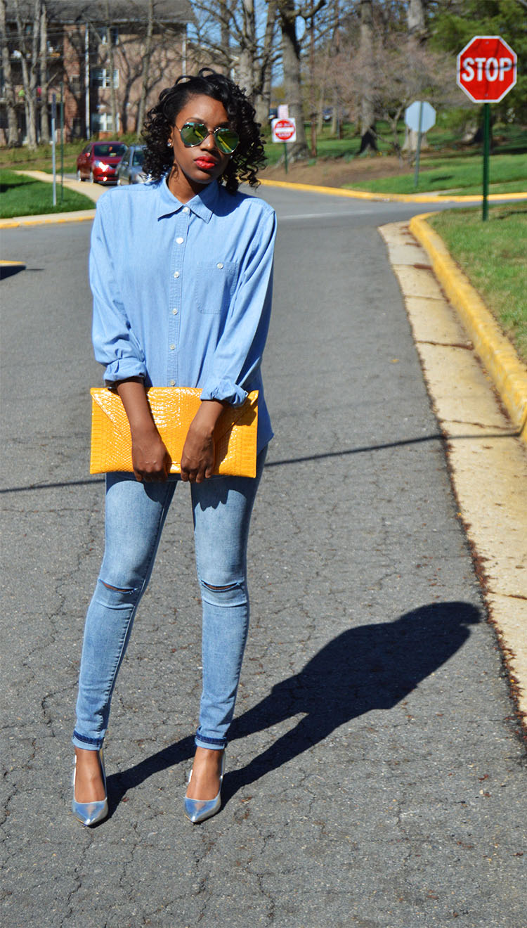 Denim-Look-With-Aldo-Agrayssa-Sunglasses