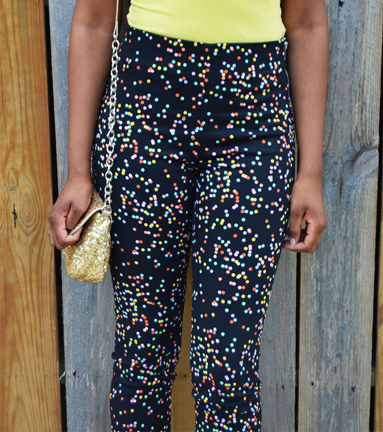 Lots-of-Dots-HM-Slim-Fitted-Pants