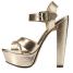 Charlotte-Russe-Metallic-Cross-Strap-Platform-Chunky-Heels