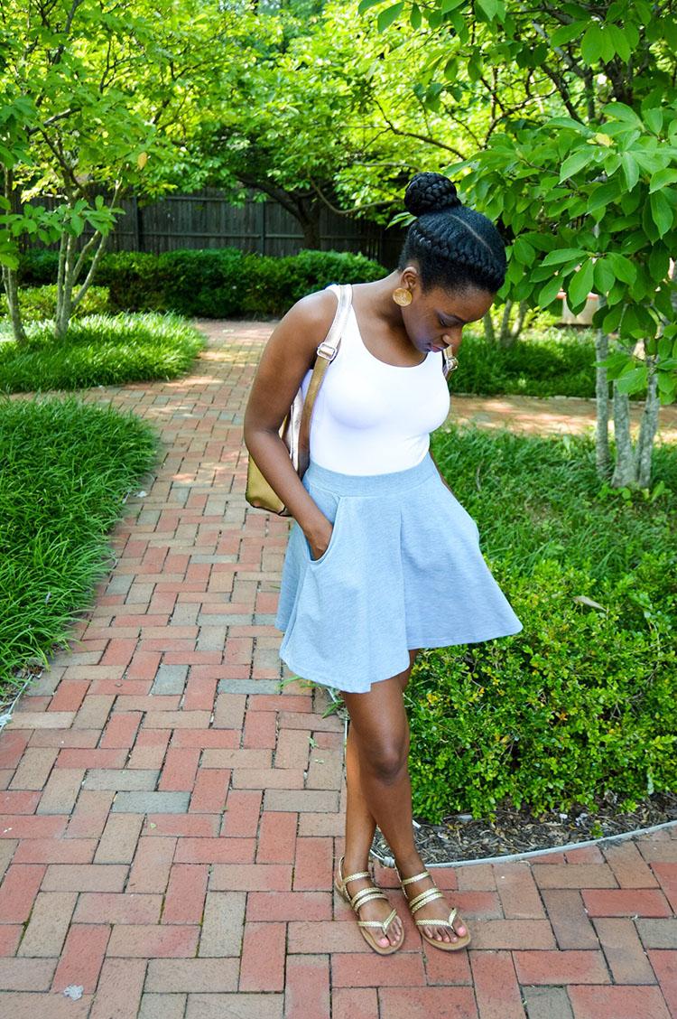 Flared-Skirt