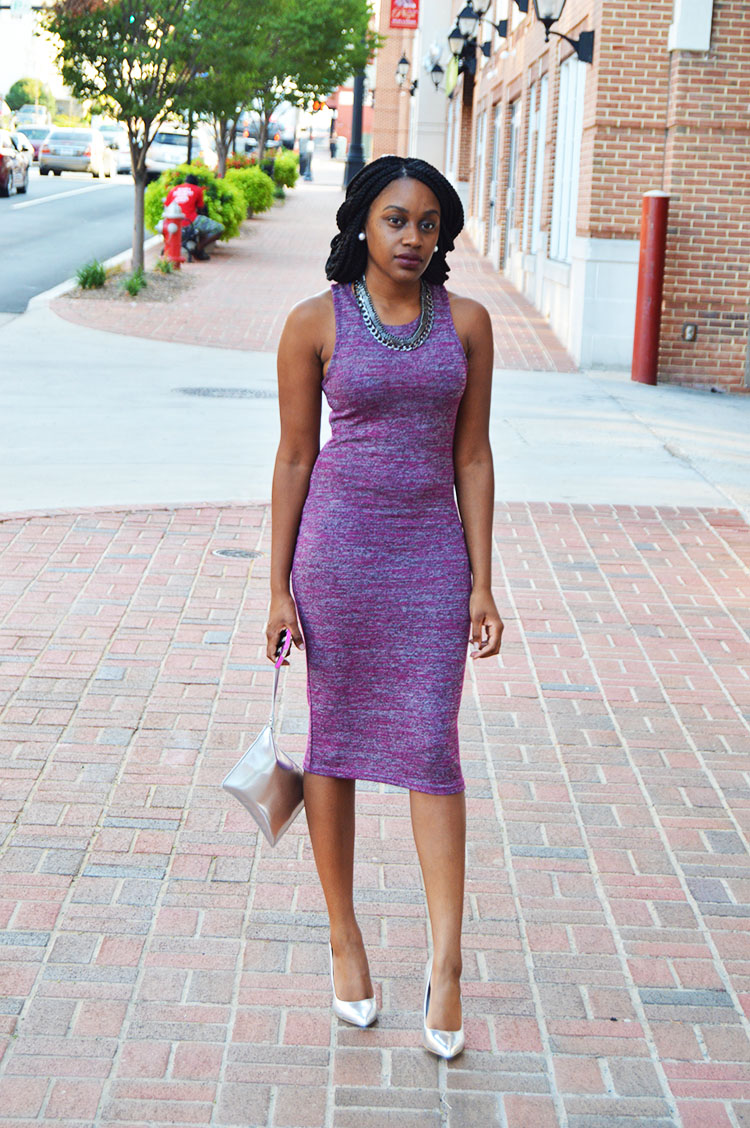 Full-Look-Cotton-On-Midi-Dress