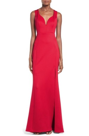Love,-Nickie-Lew-'Venus'-Side-Cutout-Gown