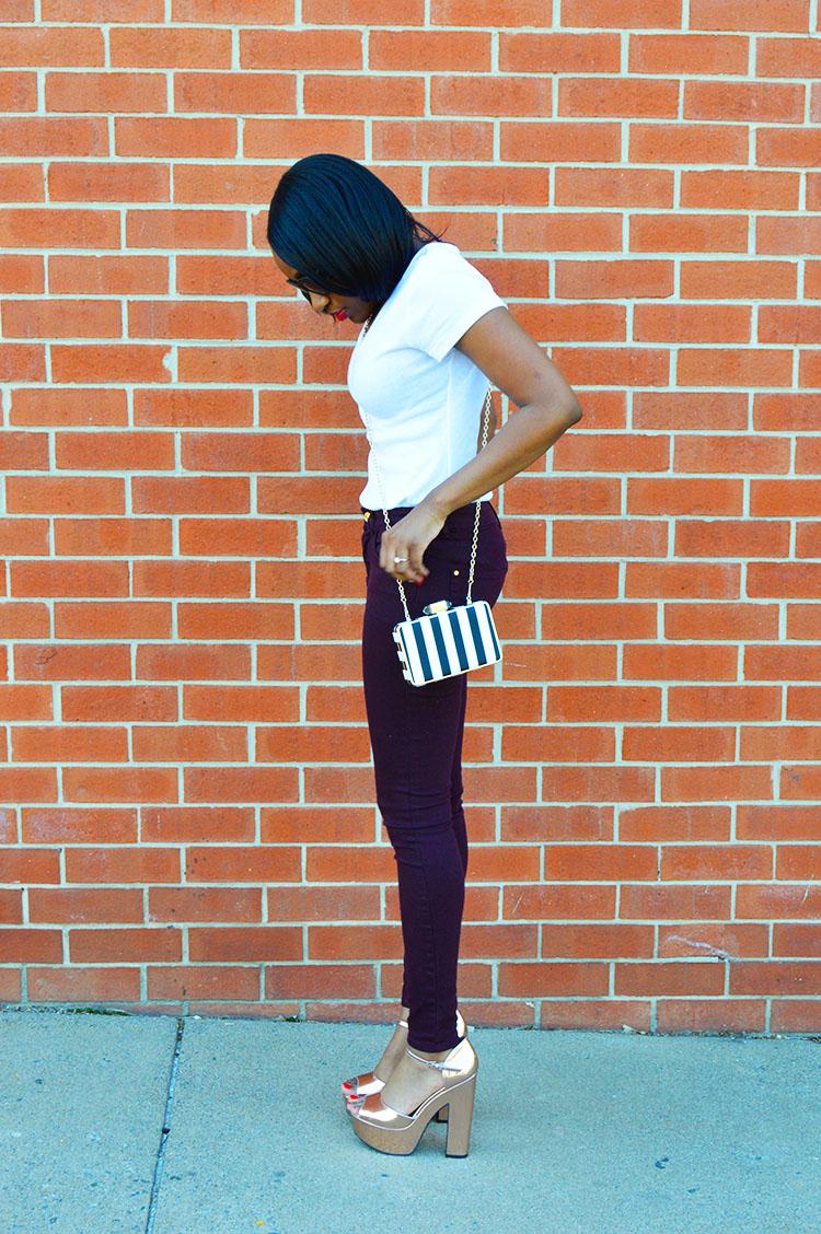 white-t-shirt-and-purple-skinny-pants-3