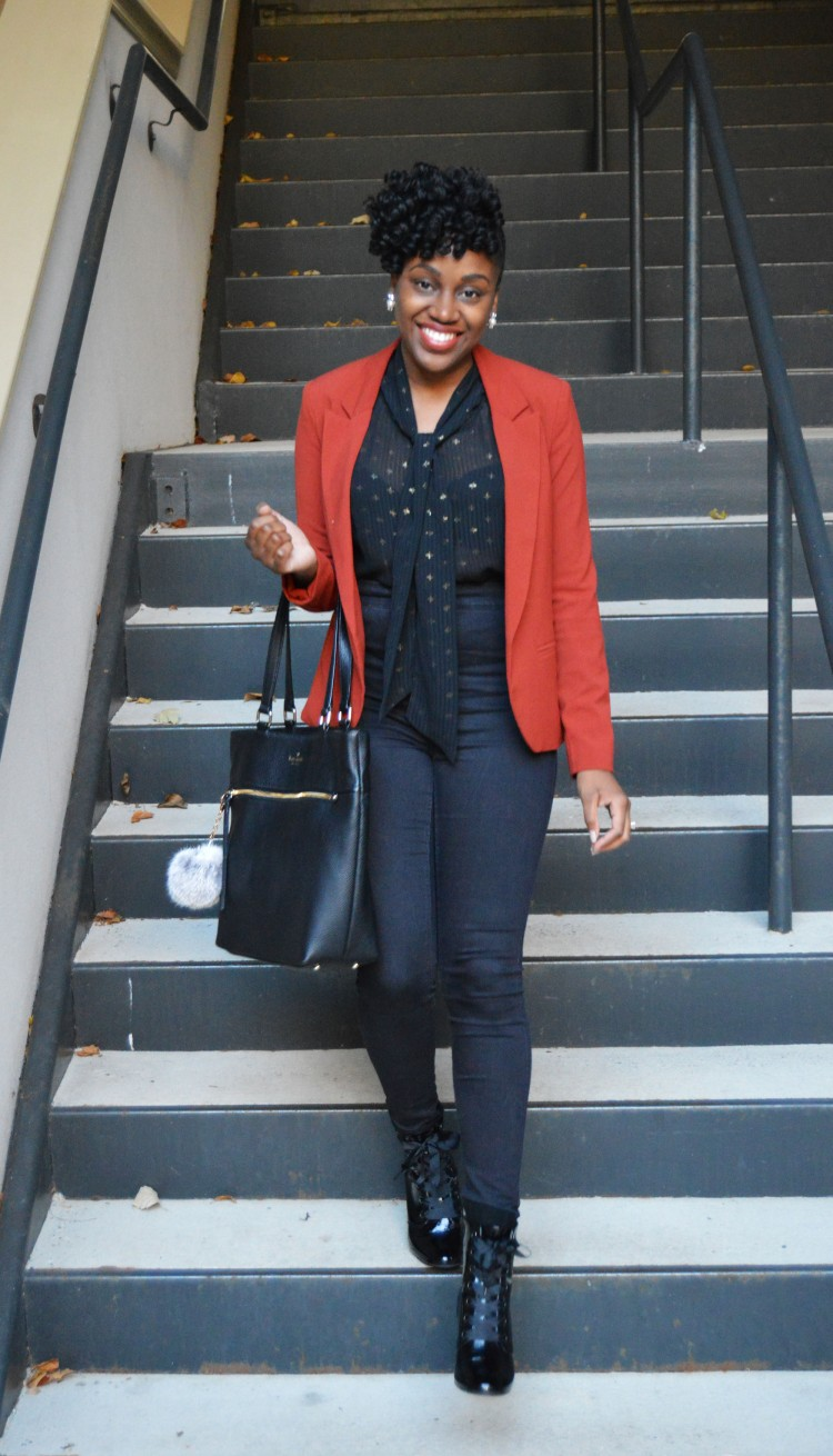 Fall-Blazer-And-Blouse-And-Booties-Look