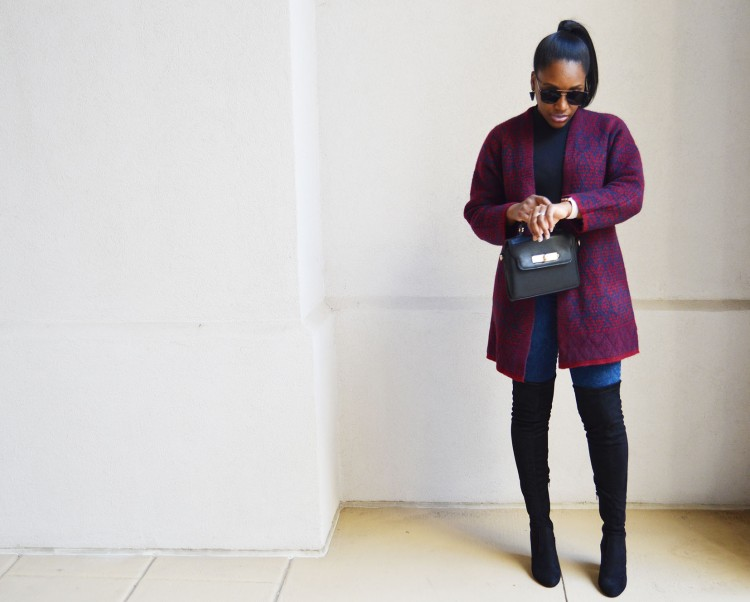 Open-Front-Cardi-Coat-and-Over-the-Knee-Boots