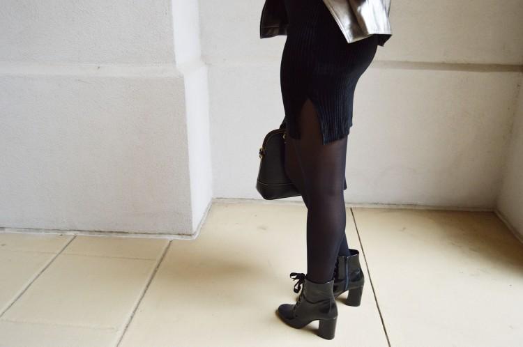 Black-Velvet-Dress-And-Metallic-Moto-Jacket-2