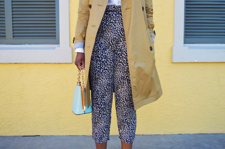 Animal-Print-Pants-and-a-Trench-Look-3