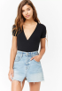 Forever-21-Ribbed-Surplice-Bodysuit