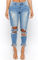 Forever-21-Distressed-Capri-Jeans