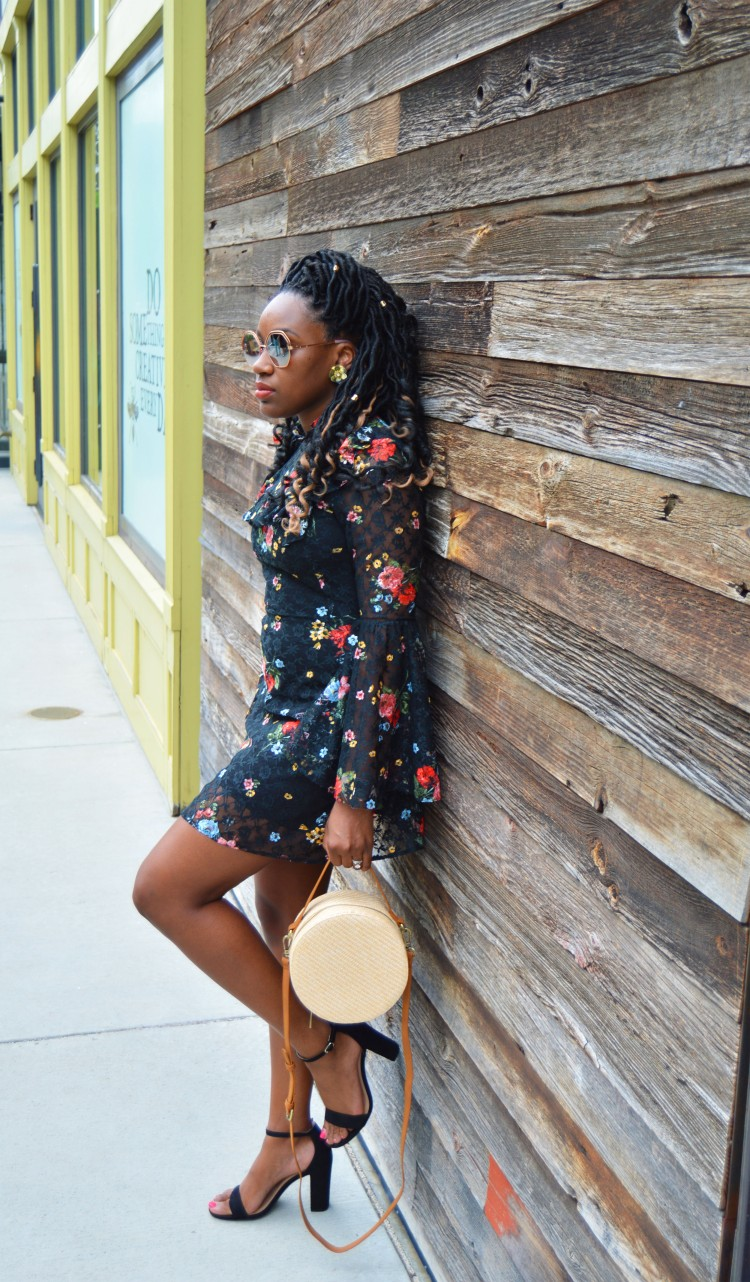 How-To-Style-A-Floral-Lace-Dress-5