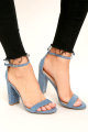 Lulus-TAYLOR-BLUE-SUEDE-ANKLE-STRAP HEELS
