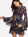 SHEIN-Calico-Print-Keyhole-Back-Bell-Sleeve-Dress .png