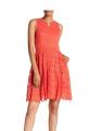 Donna-Ricco-Split Neck-Lace-Dress.png