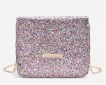 Romwe-Metal-Detail-Sequin-Flap-Bag-With-Chain