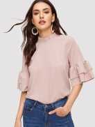 SHEIN-Frilled-Neckline-Flounce-Sleeve-Solid-Top.png